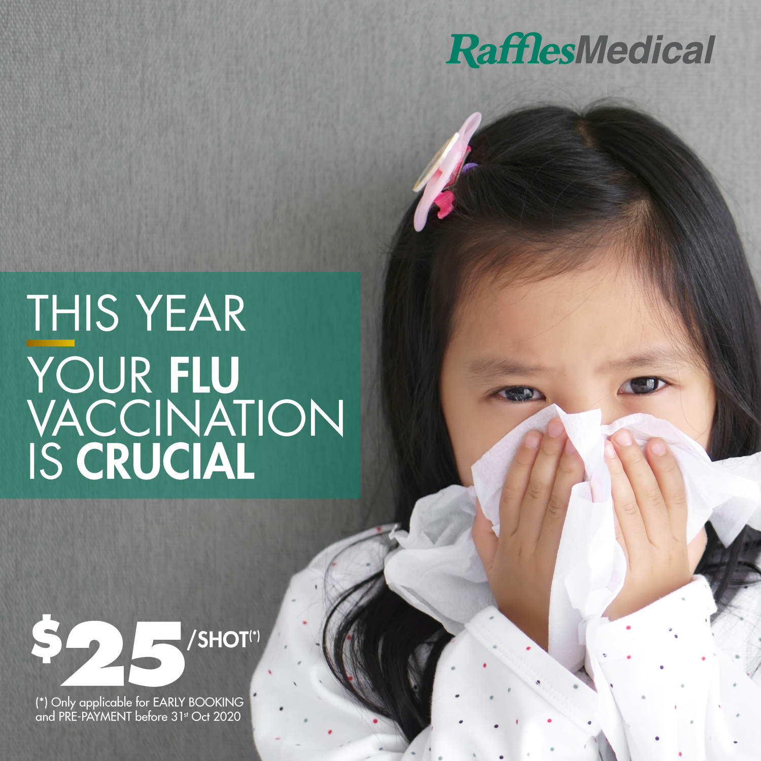 THIS YEAR Your FLU vaccination is CRUCIAL